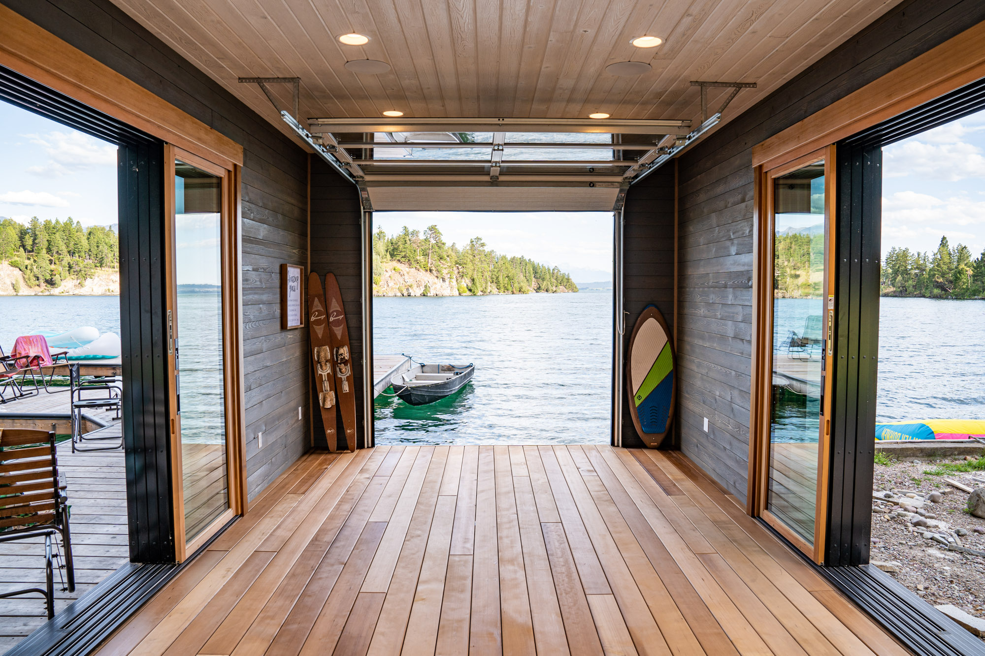 Durable Thermally Modified Decking for Docks-25