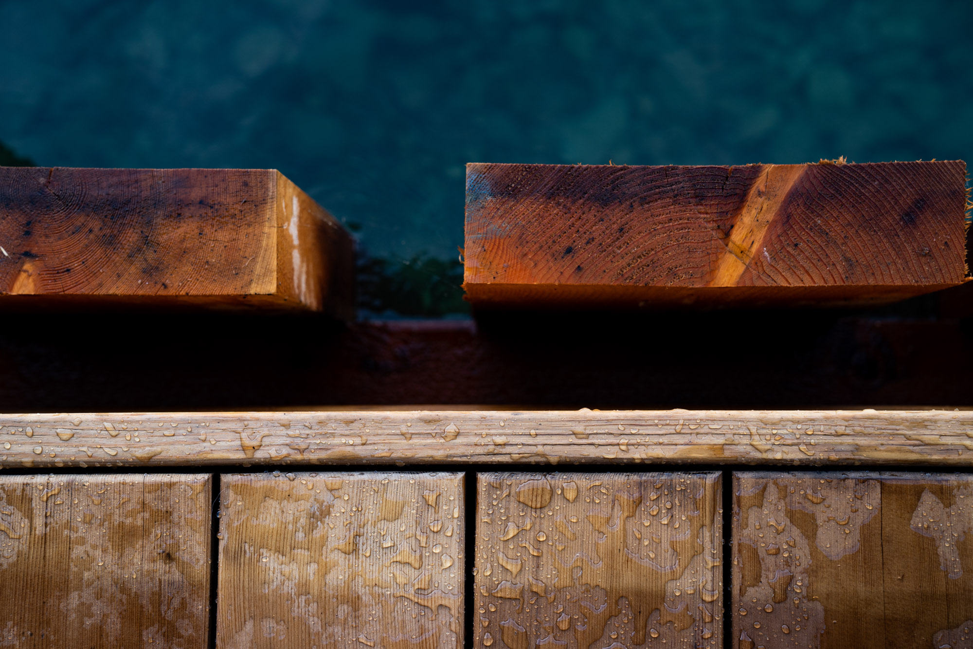 Durable Thermally Modified Decking for Docks-74