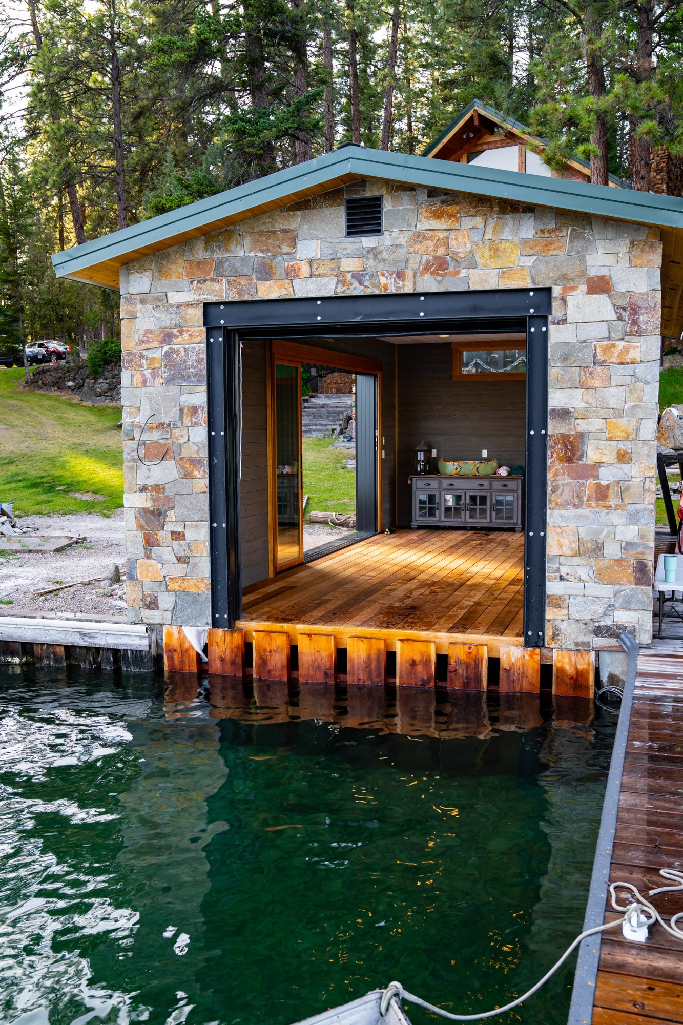 Durable Thermally Modified Decking for Docks-90